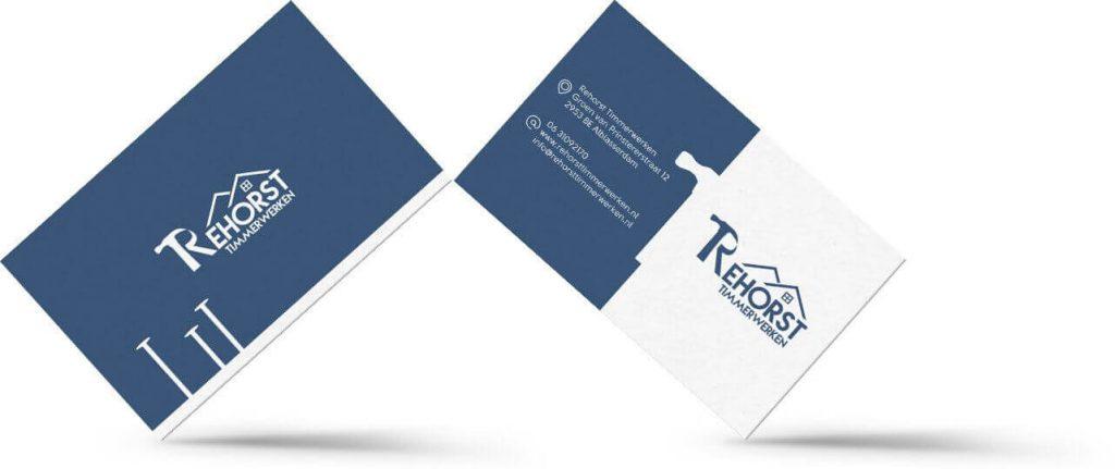 Visitekaartjes ontworpen door CodePix